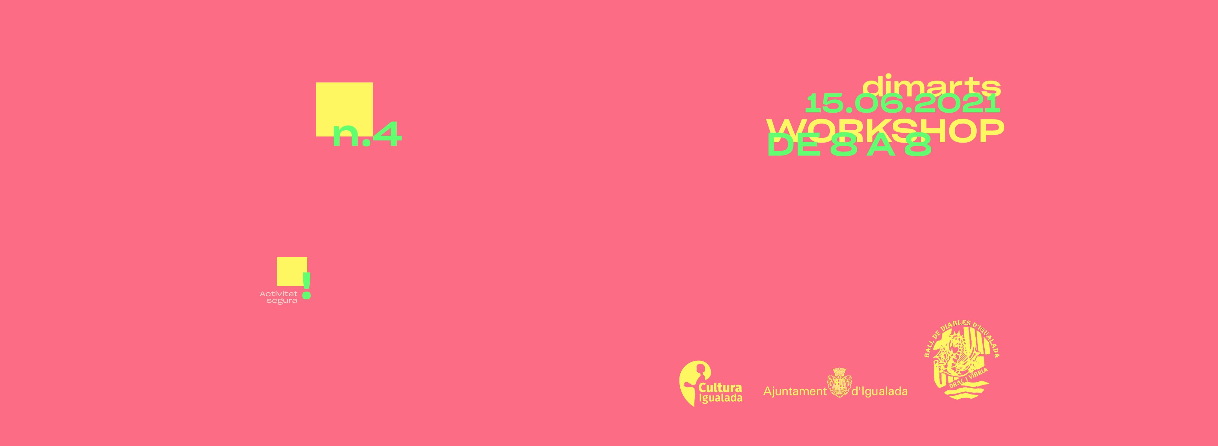 Wokshop de 8 a 8 amb OuYeah! Studio
